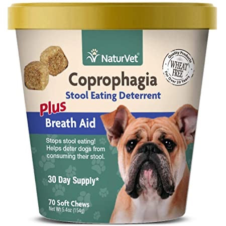 NaturVet Coprophagia + Breath Deterrent  70 soft chews