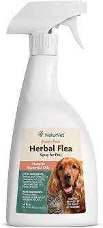 NaturVet Herbal Flea Dog & Cat Spray