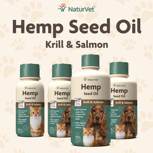 Load image into Gallery viewer, NaturVet Hemp Seed Oil 16oz