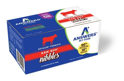 AW12 Answers Beef Nibbles 2.2lb