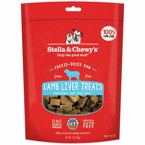 Load image into Gallery viewer, SC Stella Chewy Lamb Liver Treats Dog