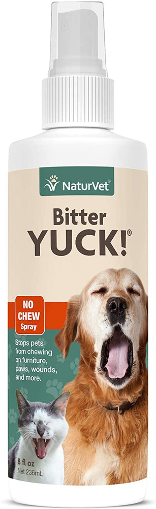NaturVet Bitter Yuck 16oz Spray