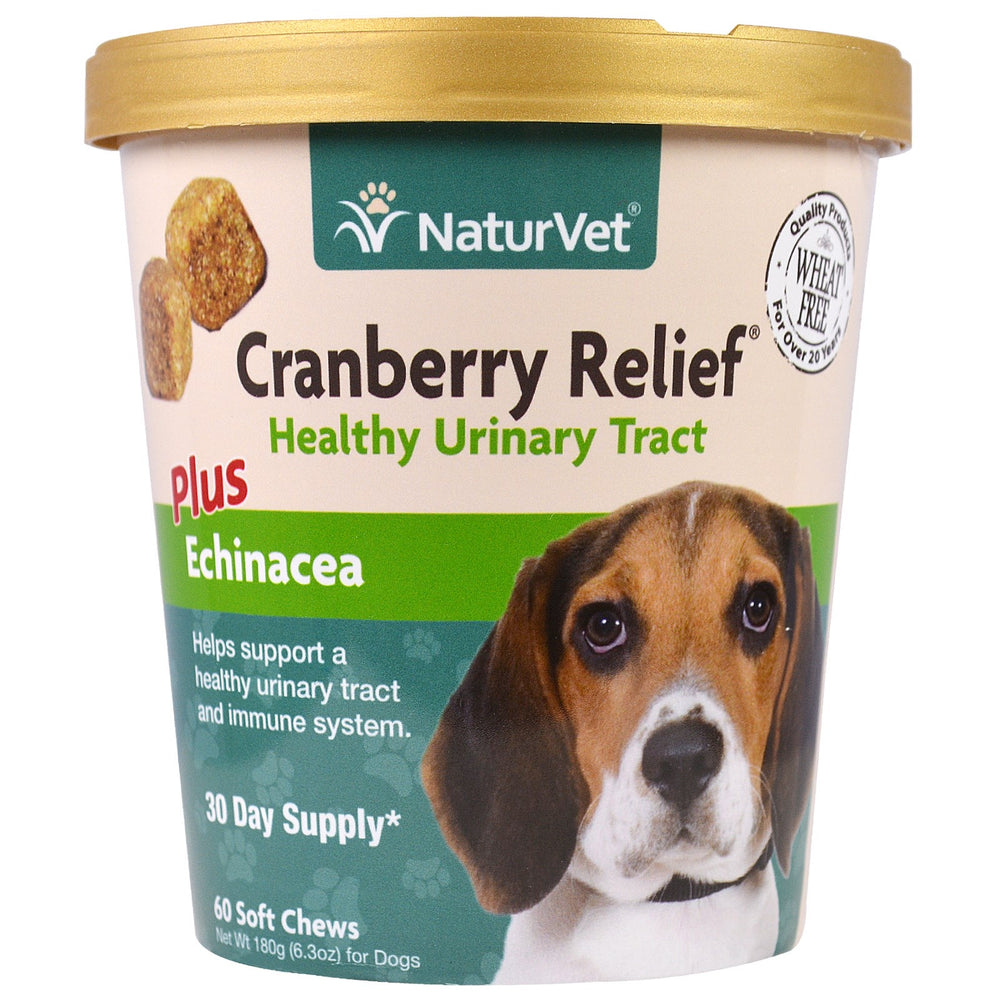 NaturVet Cranberry Relief 60ct