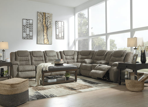 McCade Signature Design by Ashley Sectional image