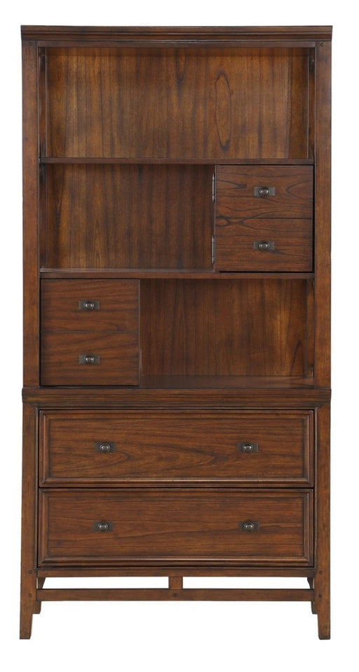 Homelegance Frazier Bookcase in Brown Cherry 1649-18 image