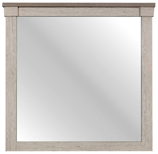 Homelegance Arcadia Mirror in White & Weathered Gray 1677-6 image