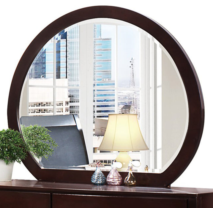 Homelegance Lyric Mirror in Dark Espresso 1737NC-6 image