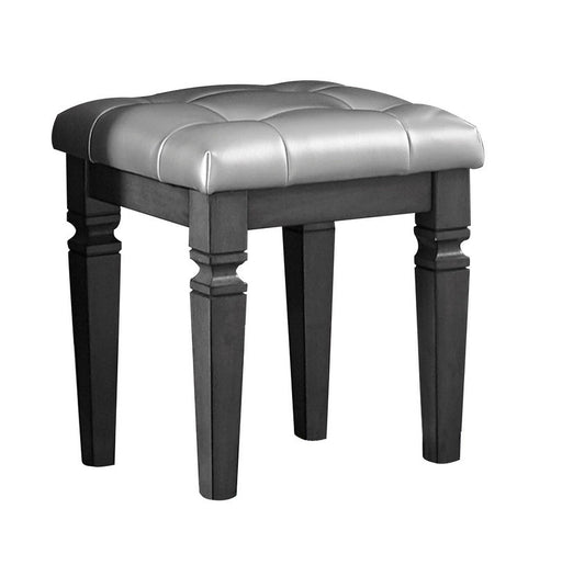 Homelegance Allura Vanity Stool in Gray 1916GY-14 image
