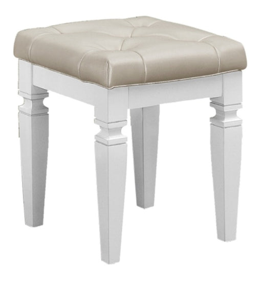 Homelegance Allura Vanity Stool in White 1916W-14 image