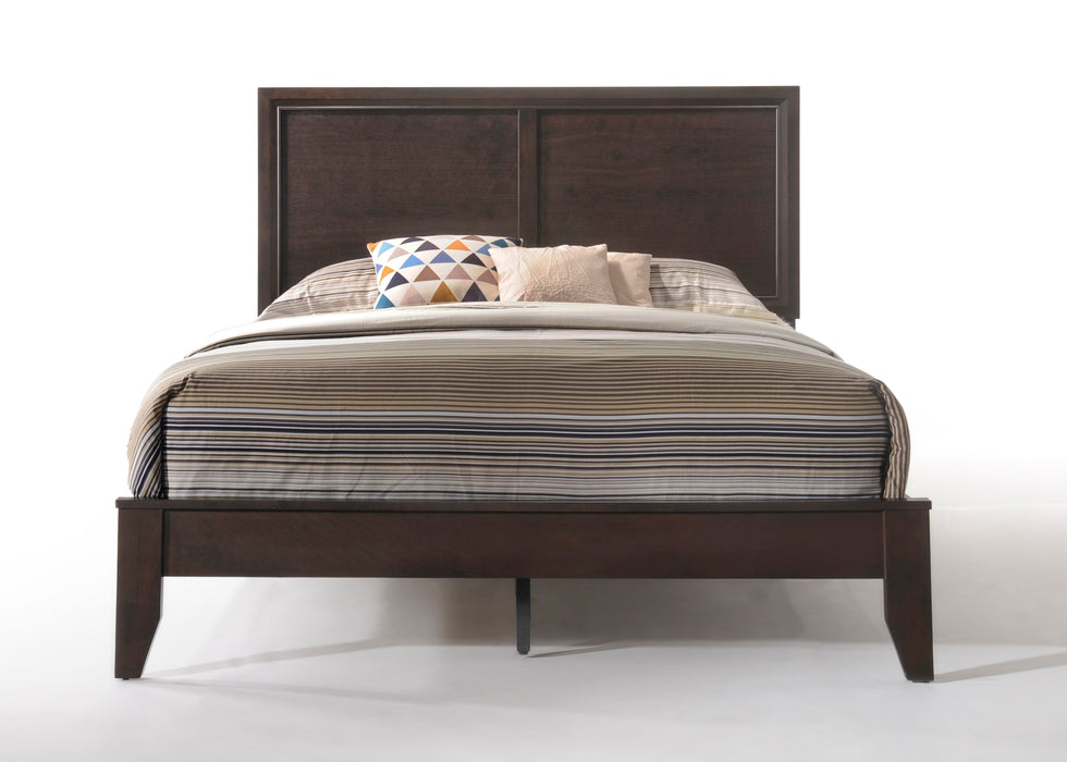 Madison Espresso Eastern King Bed