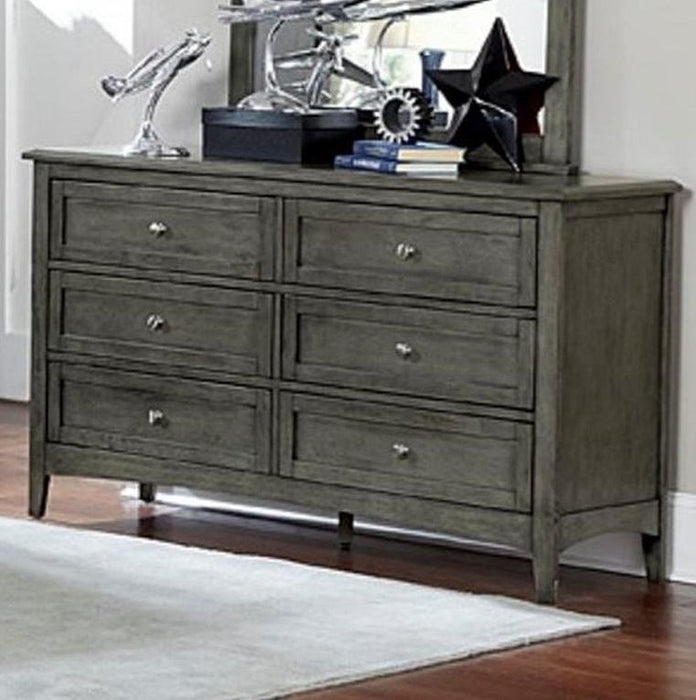 Homelegance Furniture Garcia 6 Drawer Dresser in Gray 2046-5 image