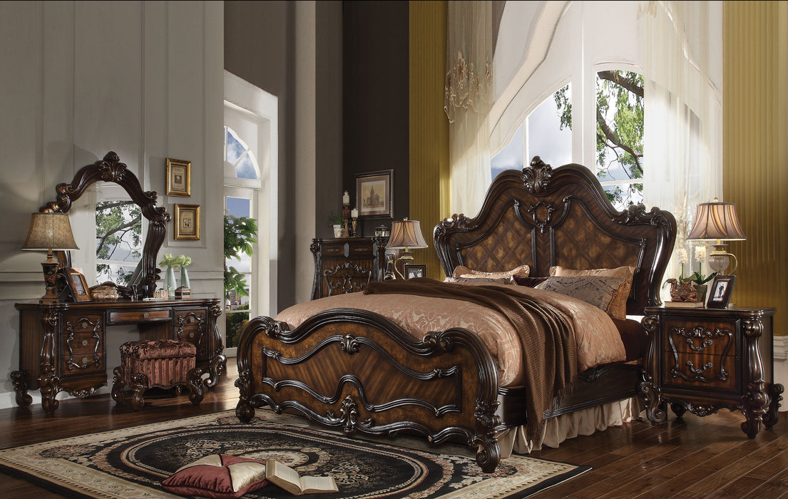 Versailles Cherry Oak Eastern King Bed