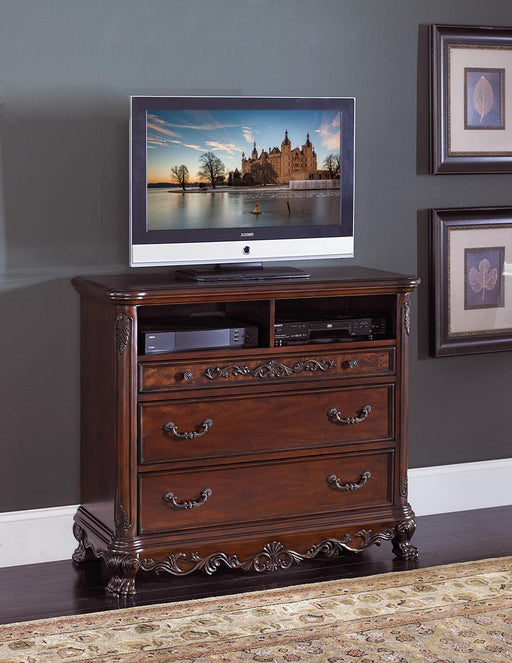 Homelegance Deryn Park TV Chest in Cherry 2243-11 image