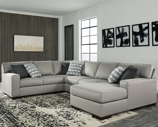 Marsing Nuvella Benchcraft 4-Piece Sectional with Chaise image