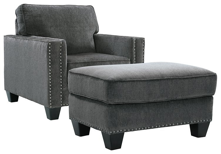Gavril Benchcraft 2-Piece Chair & Ottoman Set image