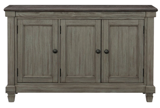 Homelegance Granby Server in Coffee and Antique Gray 5627GY-40 image
