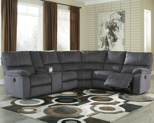Urbino Signature Design by Ashley 3-Piece Reclining Sectional image
