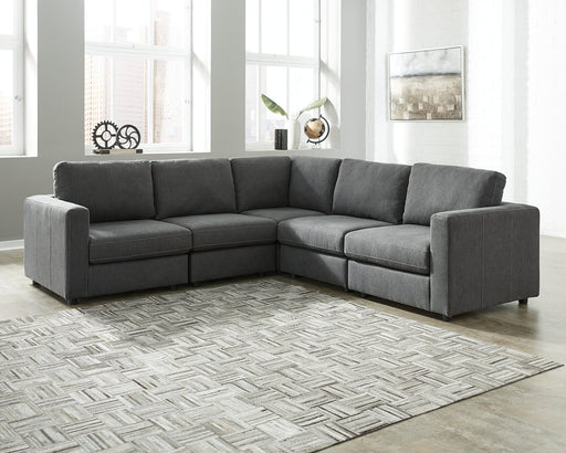 Candela Signature Design by Ashley 5-Piece Sectional image