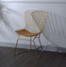 Achellia Whiskey PU & Gold Side Chair image