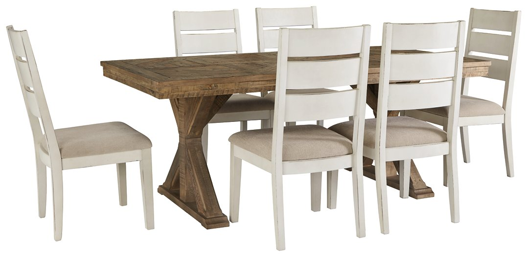 Grindleburg Signature Design 7-Piece Dining Room Package image