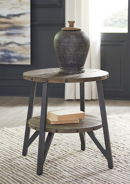 Haffenburg Signature Design by Ashley End Table image