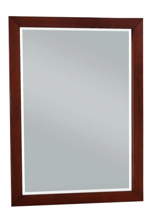 Homelegance Rowe Mirror in Dark Cherry B2013DC-6 image
