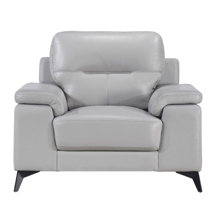 Homelegance Furniture Mischa Chair in Silver Gray 9514SVE-1 image