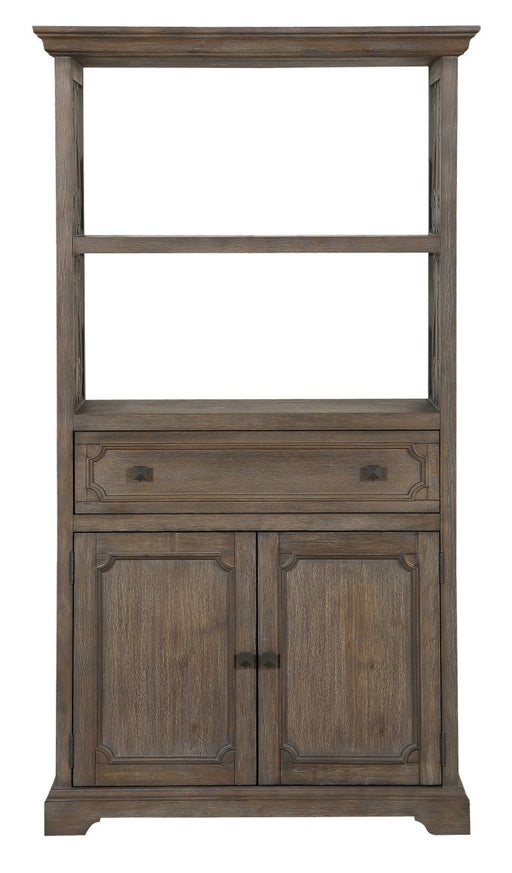 Homelegance Toulon Bookcase in Wire-Brushed 5438-19 image