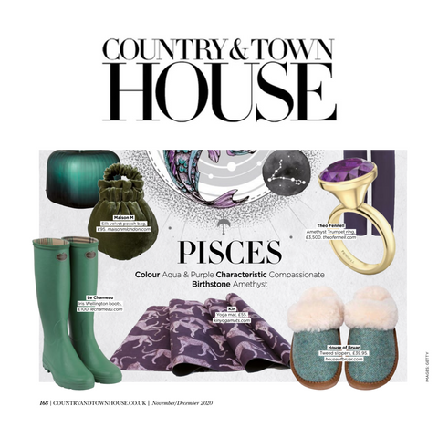 Kin Yoga mats as seen in country & townhouse magazine