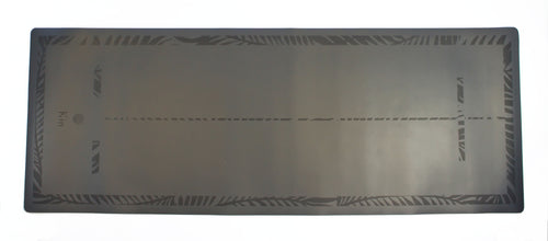 'Explorer' PRO Yoga mat metallic grey