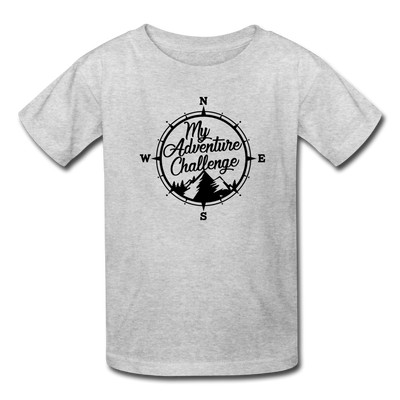 My Adventure Challenge Youth T-Shirt - heather gray