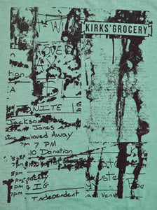 Kirks' Grocery Green T-Shirt | Shane de Leon Collage