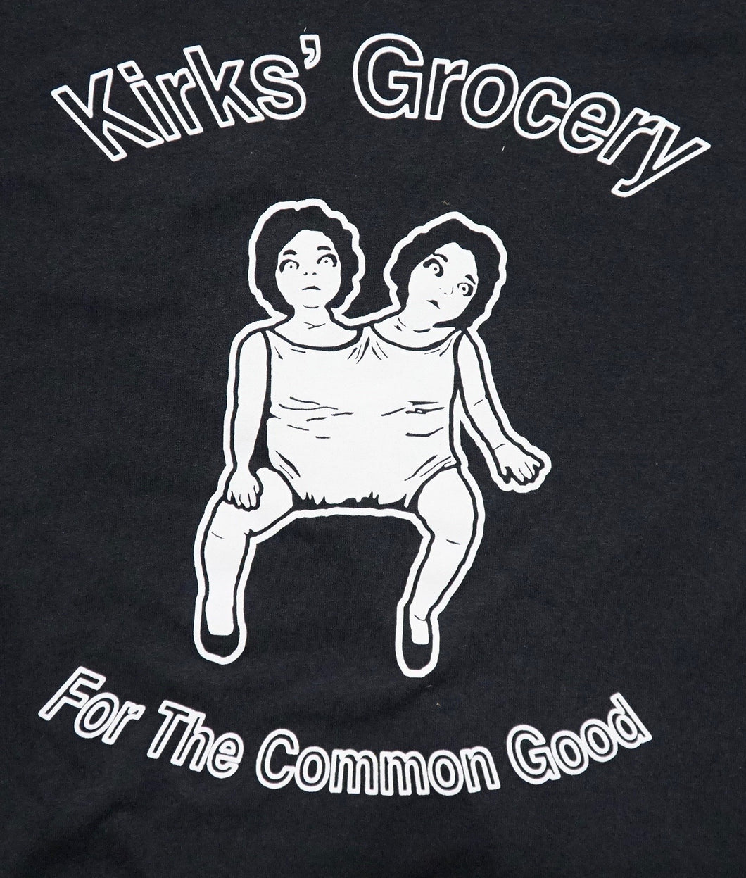 Kirks' Grocery Unisex T-Shirt | Two Headed Doll