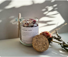 Load image into Gallery viewer, Vivi + Ko Lavender & Rose Bath Salts