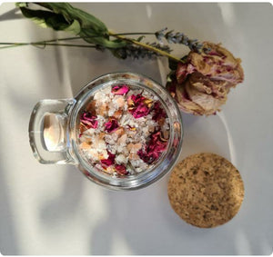 Vivi + Ko Lavender & Rose Bath Salts