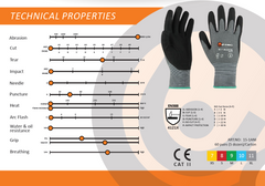 Eureka 15-1 Nitrile Assembly Gloves