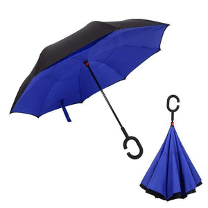 0233 Travel Windproof Umbrella (Reverse Umbrella) - DeoDap