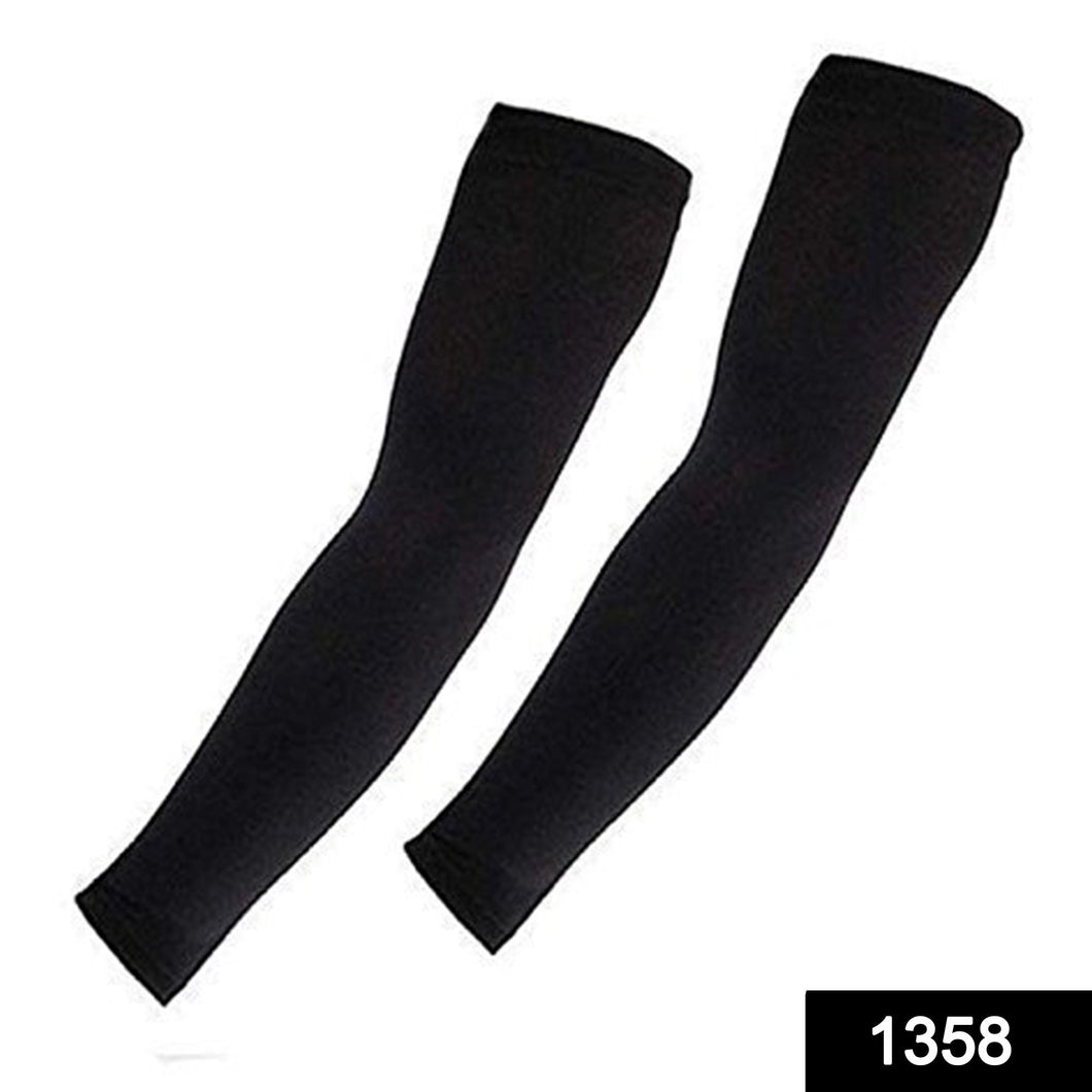 1358 Multipurpose All Weather Arm Sleeves for Sports and Outdoor activities - DeoDap