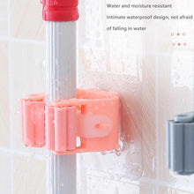 Load image into Gallery viewer, 2177 Magic Sticker Series Self Adhesive Mop and Broom Holder - DeoDap