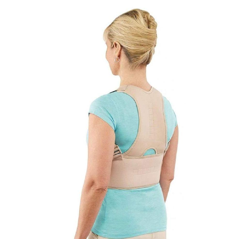 0377  Adjustable Royal Posture Back Support Brace Unisex