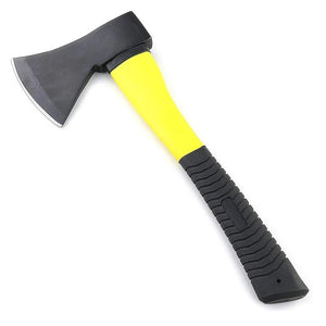 0641 -600g Hatchet Axe Fiberglass Body Rubberized Handle