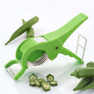 0158 Vegetable Cutter with Peeler
