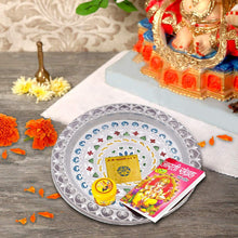 Load image into Gallery viewer, 2235 Silver Plated Pooja Thali