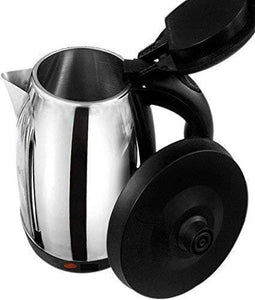 2151 Stainless Steel Electric Kettle with Lid - 2 l - DeoDap