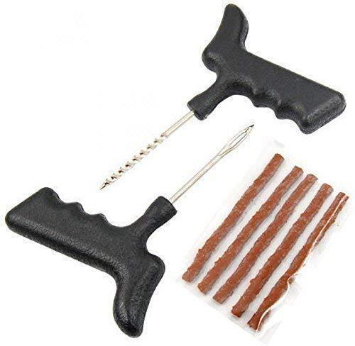 0392_Auto Tubeless Tire Tyre Puncture Plug Repair Kit Tools Set