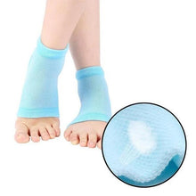 Load image into Gallery viewer, 0343 Heel Pain Relief Silicone Gel Heel Socks (Multicolor)