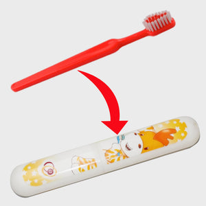7602 Plastic Toothbrush Cover Case, Multi Colour - DeoDap