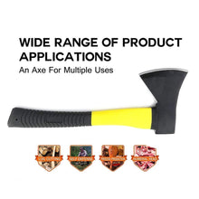 Load image into Gallery viewer, 0641 -600g Hatchet Axe Fiberglass Body Rubberized Handle