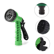 Load image into Gallery viewer, 0477 Plastic Garden Hose Nozzle Water Spray Gun Connector Tap Adapter Set - DeoDap