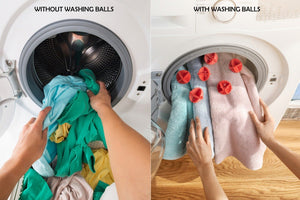 0207 Laundry Washing Ball, Wash Without Detergent (6pcs)